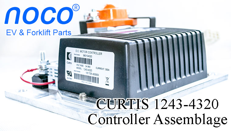 Programmable CURTIS DC SepEx Motor Speed Controller Assemblage 1243-4320 - 24V / 36V - 300A, http://wwww.nocoev.com/