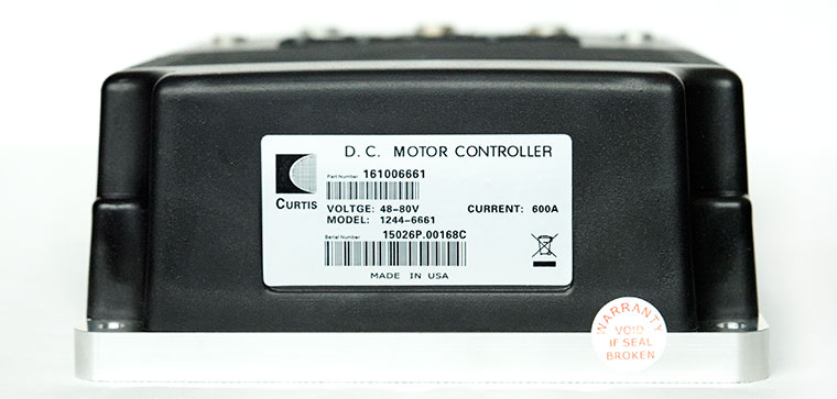 CURTIS 48-80V / 600A DC SepEx Motor Speed Controller, Designed For High Power Electric Vehicle Like Heavy Golf Cart and Forklift