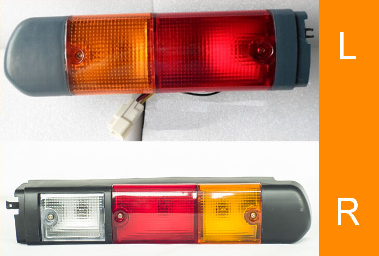 Toyota 7FB Forklift Rear Lamp Combination, 3-Color Lighting Signals, Safety Display