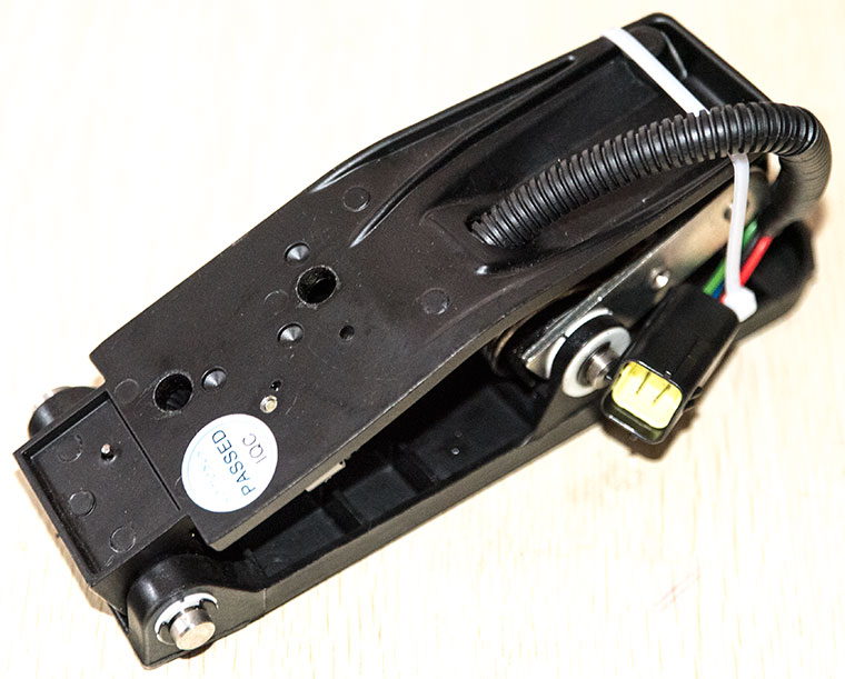 CURTIS COMESYS Foot Pedal Throttle Tiller Head, forword / reverse, speed signal output device