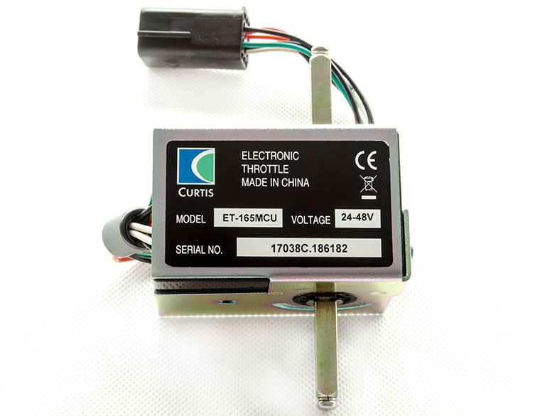 CURTIS 0-5V Electric throttle, Model ET-165 MCU, electric vehicle foot pedal ET-165