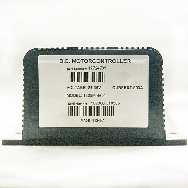 CURTIS Controller P125M-4601, 24V / 400A DC Series Motor Speed Controller