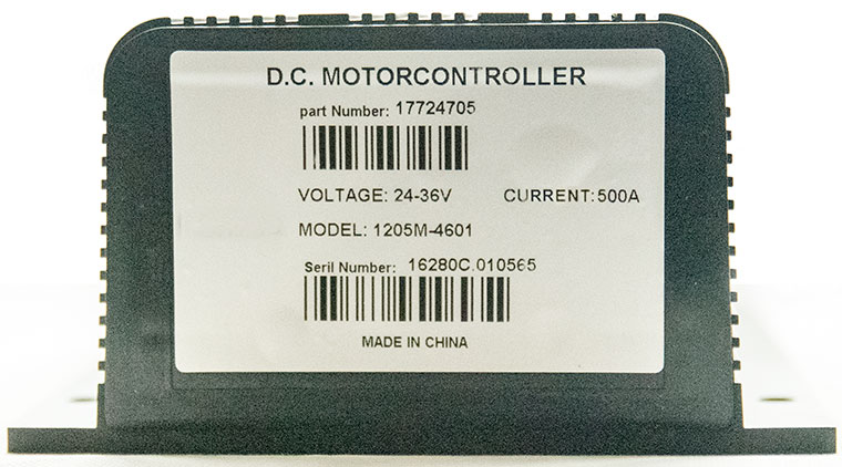Model P125M-4601 DC Series Winding Motor Speed Controller, Fully Compatible with CURTIS 1205M-5603 Controller, Programmable with CURTIS 1313-4401 Handheld Programmer or 1314-4402 PC Station Programmer
