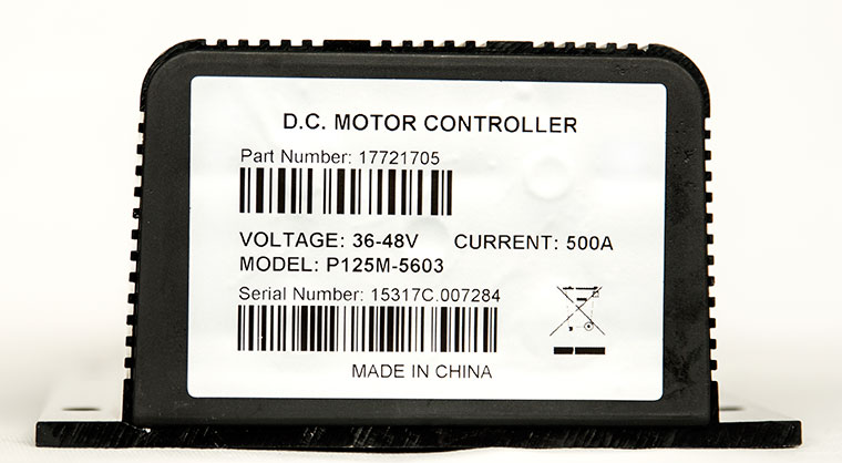 Model P125M-5603 DC Series Winding Motor Speed Controller, Fully Compatible with CURTIS 1205M-5603 Controller, Programmable with CURTIS 1313-4401 Handheld Programmer or 1314-4402 PC Station Programmer