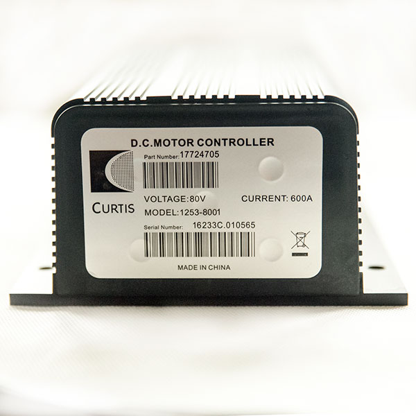 CURTIS Controller P153-8001, 80V / 600A DC Series Motor Speed Controller, Applied as Hydraulic Pump Motor Driving Control Executive