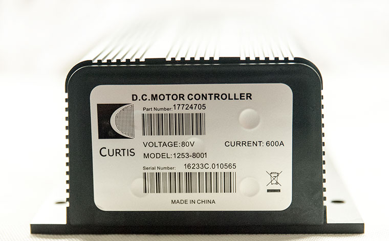 Programmable Series Motor Speed Controller (Replacement of CURTIS 1253-8001), PMC Model P153-8001, 80V - 600A, 0-5K or 0-5V Electric Throttle