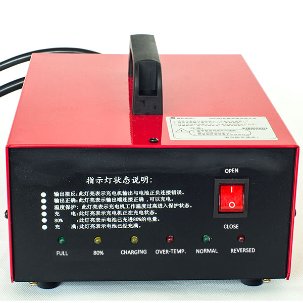 Battery Charging Device for Golf Cart and Forklift, Inuput 100-240V AC